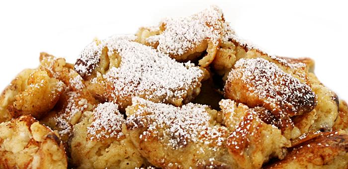 lockere pfannkuchen mit eischnee