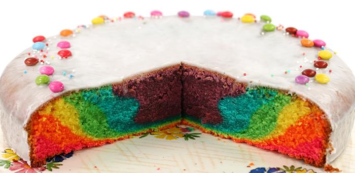 rezept f r regenbogenkuchen tls geheimes kochbuch rezepte aus aller welt. Black Bedroom Furniture Sets. Home Design Ideas